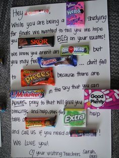 I love this o wish some one would do this for me... just to let you know this was made in the states due to the rockets being called smarties ;)