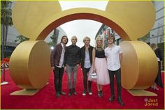RDMA R5 I love R5 music and he band love them performing at the rdmas