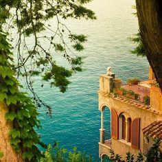 Balcón Mar, Costa de Amalfi, Italia foto a través de besttravelphotos