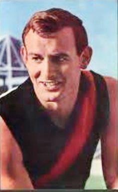Ken Fraser. Played 1958-1968. Games Essendon 198. Premiership player 1962 and…