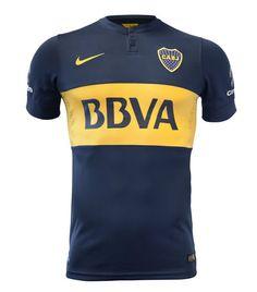Boca Juniors 2014-15 Nike Home Kits