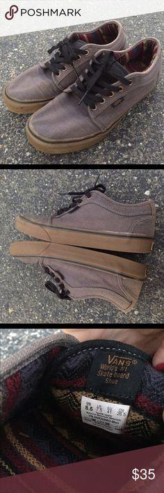 72b87bef42 Vans Chukka Low Hemp Grey Gum Sneaker