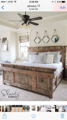 This Was My Inspiration Country Master Bedroom White Rustic Beds