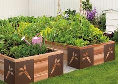 creative garden design raised vegetable garden home garden patio decorating ideas