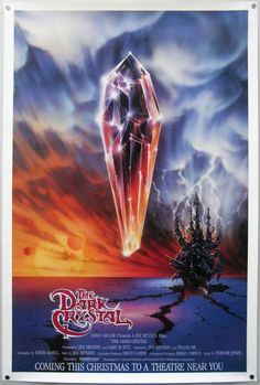The Dark Crystal - one of Jim Henson's most amazing movies.