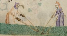 Weeding (@BLMedieval Add MS 42130 f 172r)