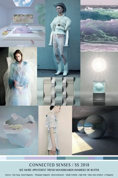 TrendSenses Moodboard Connected Senses SS-2018