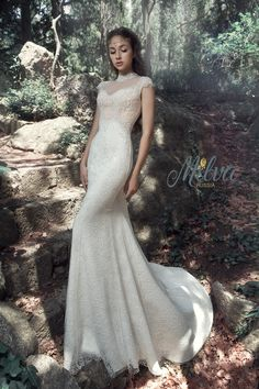 ANDALUSIA wedding dress by BELFASO in Charmé Gaby Bridal Gown boutique in Tampa Bay FL www.charmegaby.com 727-300-2044 $1400.00
