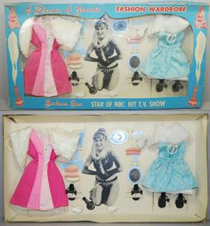 "Fashion Wardrobe for the 8"" I Dream of Jeannie doll by Libby"