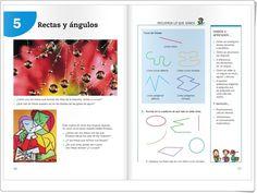 """Unidad 8 de Matemáticas de 3º de Primaria: """"Rectas y ángulos"""""""