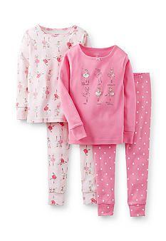 Carter's® 4-Piece Ballerina Pajama Set