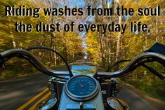 There are some quotes you hear that undeniably truthful, that's absolutely the case with these 8 motorcycle truths. Check them out and let us know if you agree with all eight in the comments below. 1.) Sometimes you need a really crooked road to get your head straight. 2.) I don't ride a bike to…