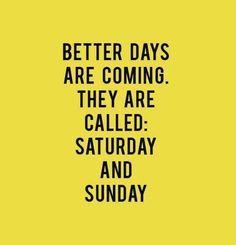 Happier days!