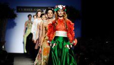 Paolo Lanzi catwalk...Italian color.