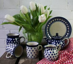 Visit Country Traditionals in Forest Row and browse their lovely pottery.  Buy a set of mugs, a decorative plate or start a dinner service that can be added to later!  www.countrytraditionals.co.uk