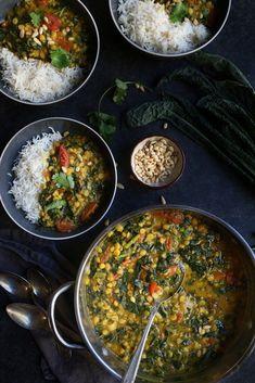 Sarson ka saag recipe sarson ka saag is a very popular recipe from healthy creamy kale lentil daal indian style vegan indiandaal vegetarian forumfinder Choice Image