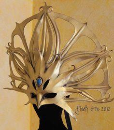 Apollo Handmade Leather Mask by MaskEra on Etsy