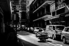 Black and White Street Photography by Bart Rozalski #inspiration #photography