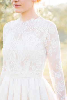 A Italian Destination Wedding In Tuscany with a Katya Katya Shehurina dress. - Image by M&J Photography