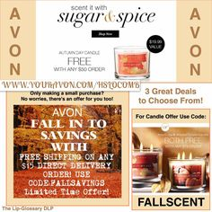 SHOP TODAY AND SAVE.  Your choice of 3 deals www.youravon.com/hslocomb