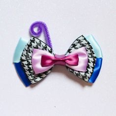 Inside Out Fear Inspired Bow por ExtraSweetBowtique en Etsy