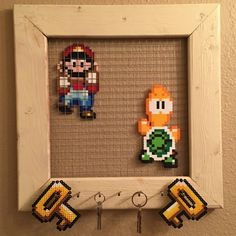 Don't worry, Mario will keep your keys safe. :)