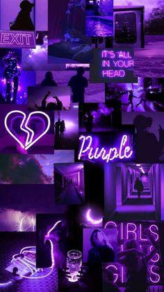Wallpaper Pastel, Purple Wallpaper Iphone, Iphone Background Wallpaper, Butterfly Wallpaper, Retro Wallpaper, Purple Backgrounds, Wallpaper Wallpapers, Dark Purple Wallpaper, Vintage Backgrounds