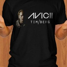 Avicii DJ Last Dance Men T-Shirt