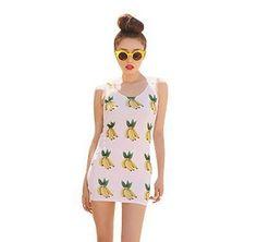 Banana Body Con Dress