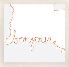 bonjour louisiana / state salutations / custom 8x10 by hndswrkshp, $16.00