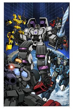 idw comics | TF05cvr IDW Publishing's Transformers #5 Cover and Interior Art