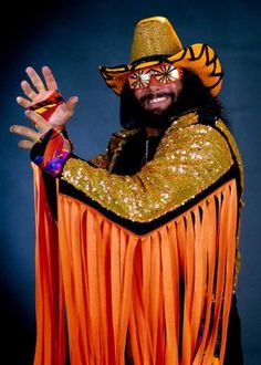 "The late ""Macho Man"" Randy Savage will forever be remembered by wrestling fans for his over-the-top personality, colorful ring attire and raspy voice that delivered some of the best promos in wrestling history. The ""Macho Man"" wrestled the majority of his career for Vince McMahon's World Wrestling Entertainment (1985-94) and Ted Turner's World Championship Wrestling (1994-2000)."