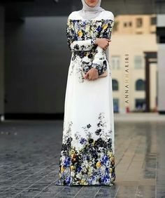 Beautiful hijabi dress #Hijab