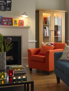 Lovely use of bright colours in this room. Image by Asda.