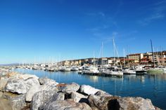 ..the little harbour and the Marina..