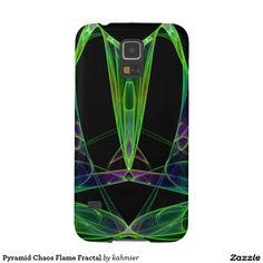 Pyramid Chaos Flame Fractal Galaxy S5 Case