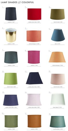 Colorful Lamp Shade