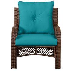 """Tufted Throw Pillow/Cushion and Deep Seat Chair Cushion 25""""x25""""x6"""" back; 24-1/2""""x24""""x4-1/2"""" seat"""