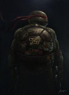 Teenage Mutant Ninja Turtles on Behance