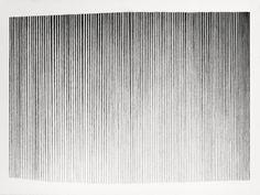 Joseph Pentheroudakis Virga, 2013 Graphite Size : x 30 in. Generative Art, Mark Making, Joseph, Minimalism, Drawings, Graphite, Inspiration, Grunge, Stripes