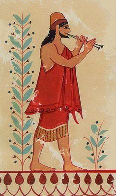 Etruscan frescoe