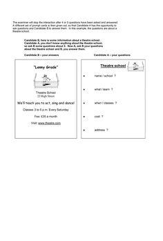 Resultado de imagen de ket speaking test