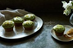 Zucchini Cupcakes with Lemon-Dill Frosting Recipe on Food52 recipe on Food52