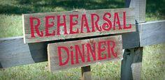 5 Great Rehearsal Dinner Ideas | Buy Wedding Sparklers