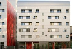 HQE Housing, paris, ade architectes, high performance envelope, sustainable development, eco housing