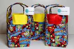 Supergirl Classic  Square Based Handy Bags
