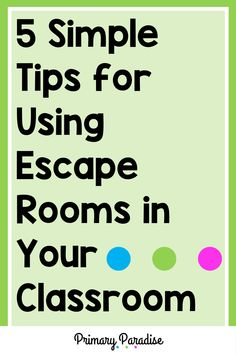 Escape rooms are engaging and fun, but can you incorporate them in your primary classroom? The answer is yes! Your primary students will love completing break out room activities in school, and you'll love how easy they are to implement. They're easier than you think! Here are 5 simple ways to make escape rooms work in your classroom! Primary Classroom, Elementary Teacher, Upper Elementary, Classroom Activities, Learning Activities, Teaching Ideas, Subtraction Kindergarten, Subtraction Activities, Measurement Activities