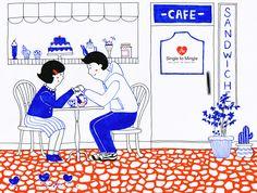 couple in love illustration Love Illustration, Couples In Love, Destiny, Baseball Cards, Comics, Art, Art Background, Kunst, Comic Books