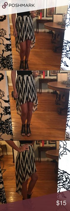High-low pleated Charlotte Russe Skirt High-low, pleated skirt perfect for almost any occasion. Charlotte Russe Skirts High Low
