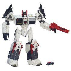 Transformers Generations Titan Class Metroplex with Autobot Scamper Figure Transformers.